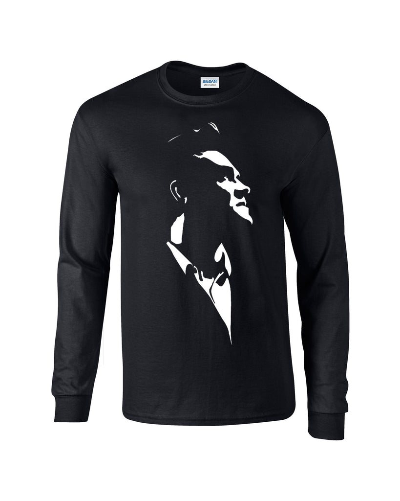 Morrissey Long Sleeve T-shirt Looking Up - Dicky Ticker  - 1