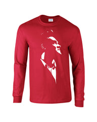 Morrissey Long Sleeve T-shirt Looking Up - Dicky Ticker  - 2