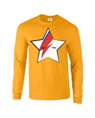Nintendo Ziggy Star Long Sleeve T-shirt - Dicky Ticker  - 6