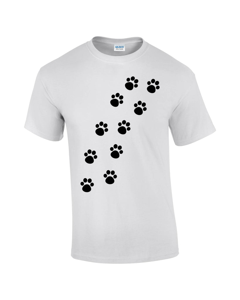 Dog Paws T-shirt - Dicky Ticker