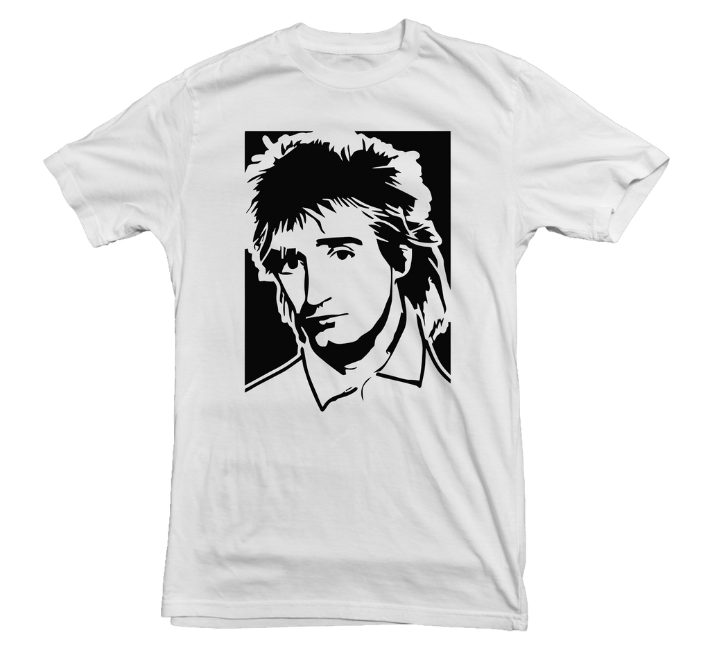 Rod Stewart T-shirt - Dicky Ticker