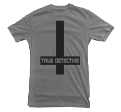 True Detective T-shirt Cross - Dicky Ticker