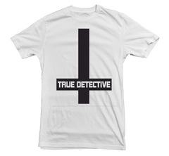 True Detective T-shirt Cross - Dicky Ticker  - 1