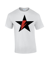 Ziggy Stardust Blackstar White T-shirt