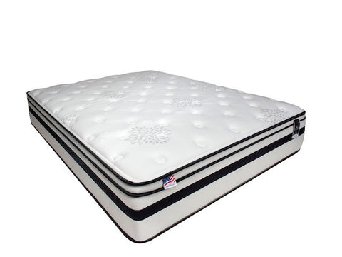 "Fairen 12"" Euro Pillow Top Mattress [NON-FLIP]"