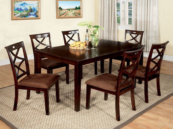 Baxter 7 pc. Dining Table Set