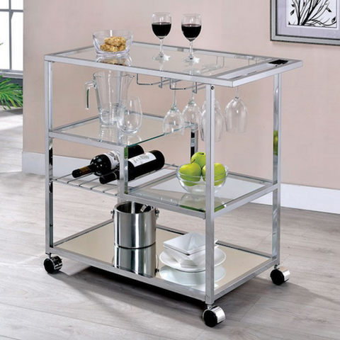 Lewisville Serving Cart