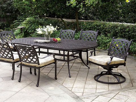 Chiara I Oval  Patio Table