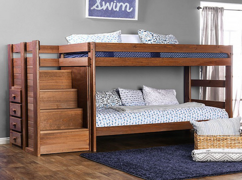 Ampelios Wooden Bunk Bed