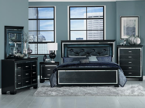 Allura Queen Bed Collection