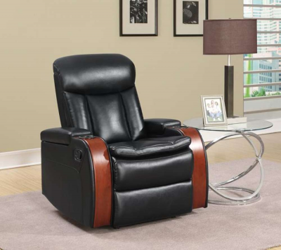 Global Collection Recliner w/ Cup Holder