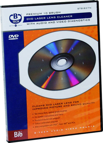 btech dvd laser lens cleaning disc