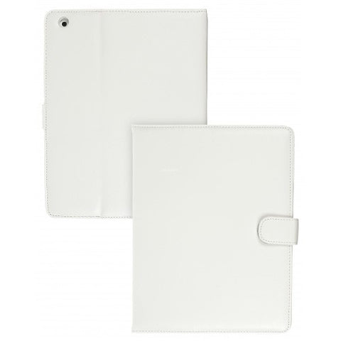 case it. folio ipad case in white