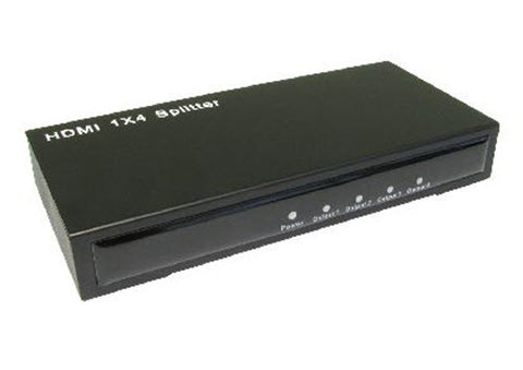 4 way hdmi splitter signal distribution box