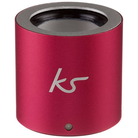 small and powerful button speaker from kitsound