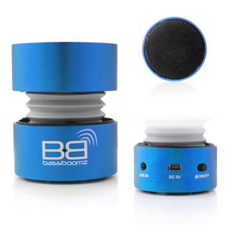 bass boomz blue android speaker