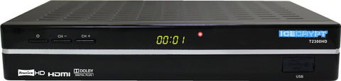 ICECRYPT T2300 Freeview HD Receiver