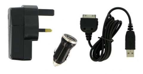mains car usb 3 in 1 ipad charger