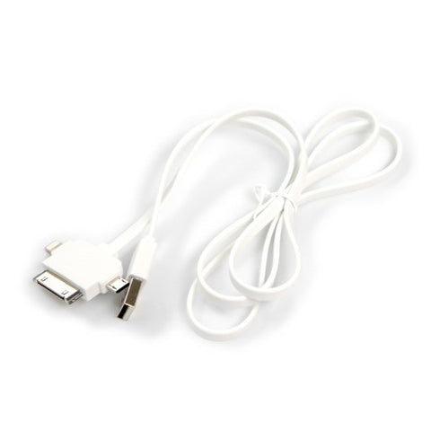 3 in 1 iphone 5 and 4 and andriod micro usb charging and data cable