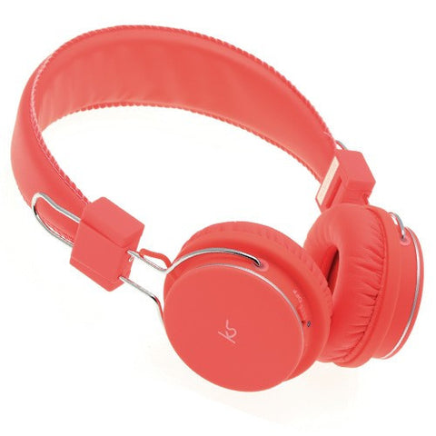 orange bluetooth kitsound manhattan headphones