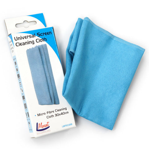 universal screen cleaning micro fibre cloth recommended for tv led lcd plasma