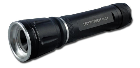 leuchtwert flashlight with adjustable focus