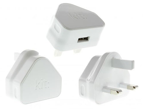 kit usb  mains 3 pin uk plug eco charger
