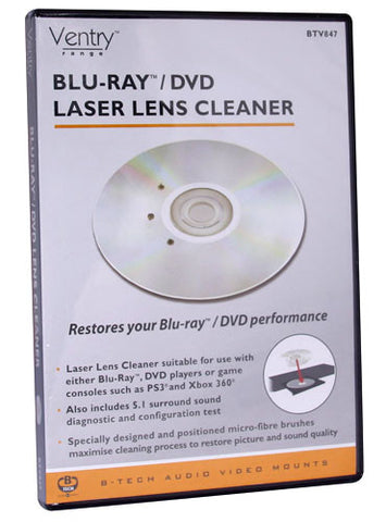 b-tech ventry laser lens cleaner