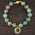 The Mission Turquoise mosaic bracelet
