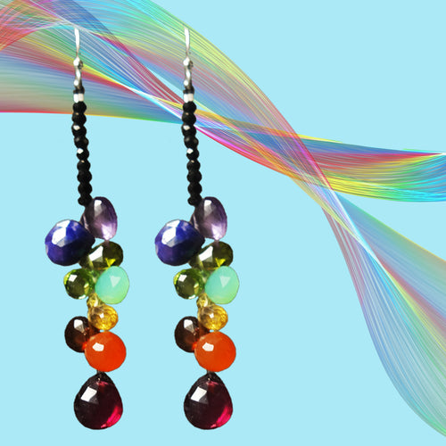 A Prayer for Becca briolette gems earring