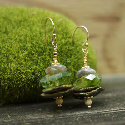 Lovely Gem Stack earring