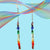 Arco Iris gemstone earrings