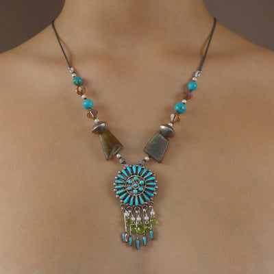 Zuni fabulousness with peridot
