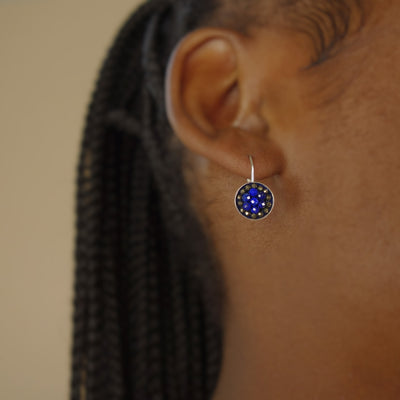 True Blue is my Love for You earring