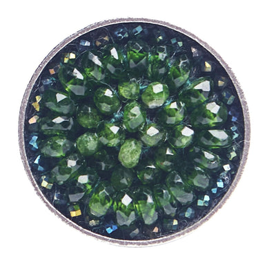 Chrome Diopside Iconic Mosaic Ring