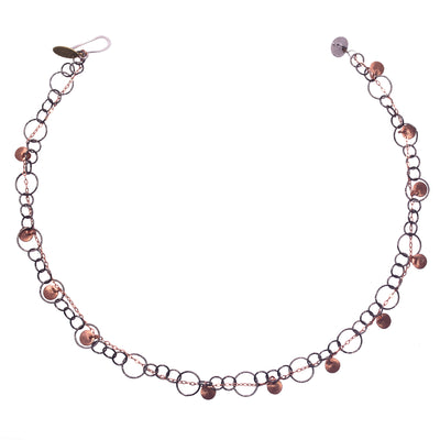 Fire & Ice Rose Gold Bracelet/Necklace (Fire)