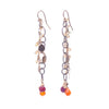 Fire & Ice Ethiopian Opal Earrings (Fire)