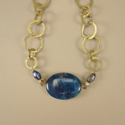 Nights in Alexandria: apatite necklace