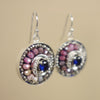 Glorious, She Is: sapphire mosaic ear