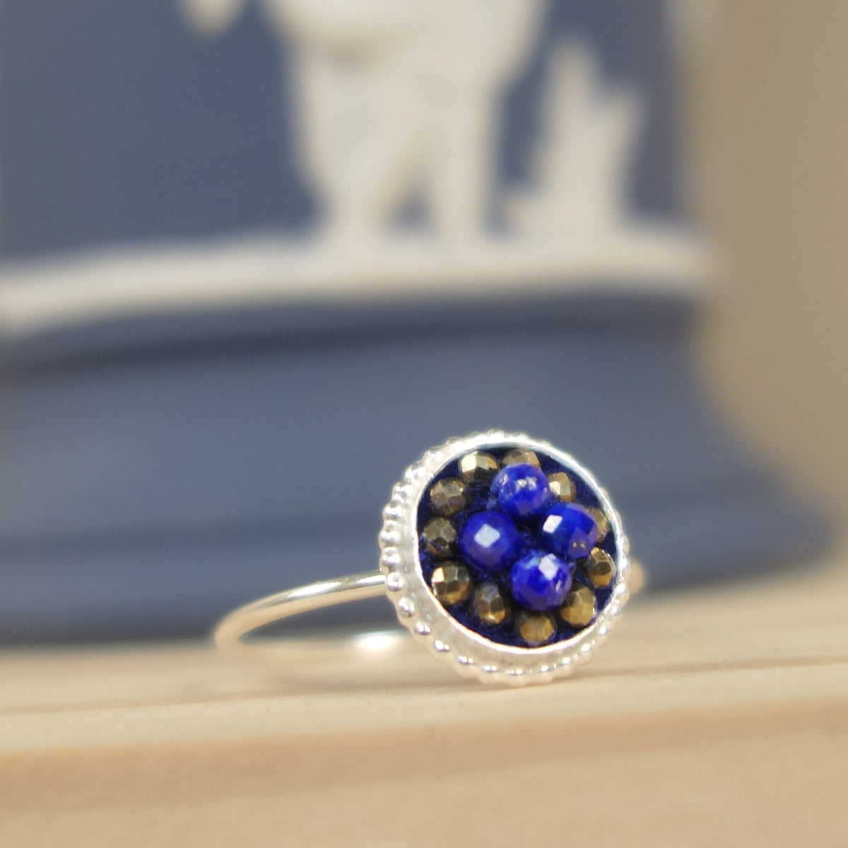 Singing in Perfect Harmony mosaic ring
