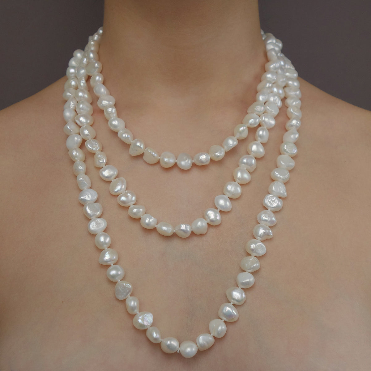 Coco Chanel says YES to the pearls