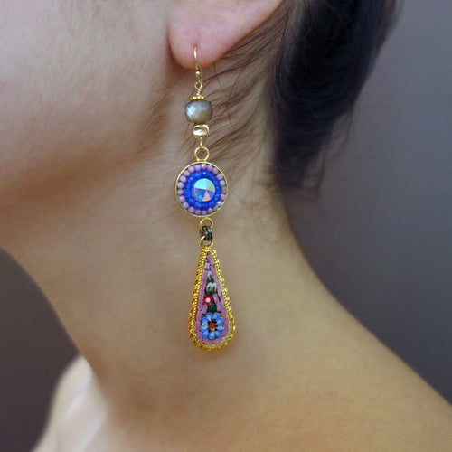 Frida Dreamed These micro mosaic earrings (Wanderlust Ravenna)