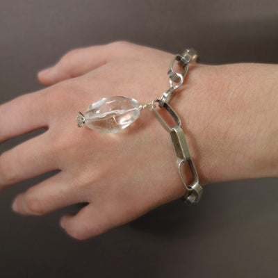 Rock On Crystal Girl Sterling bracelet