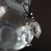 Ice Ice Baby rock crystal quartz earring