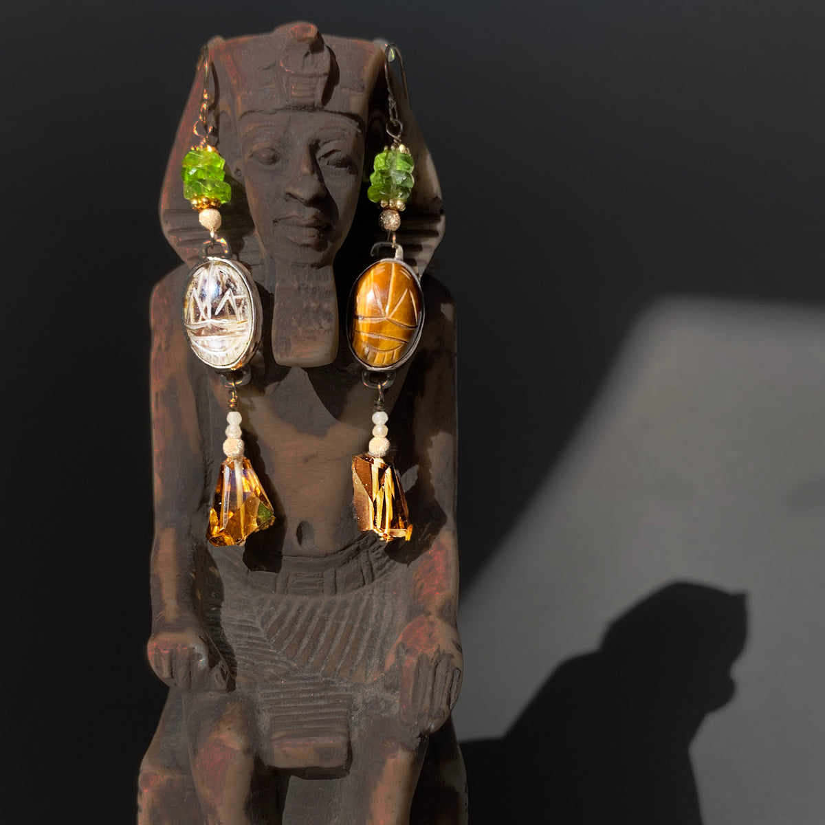 Walk Like an Egyptian earring