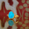 Sleeping Beauty's Already Woke turquoise ring