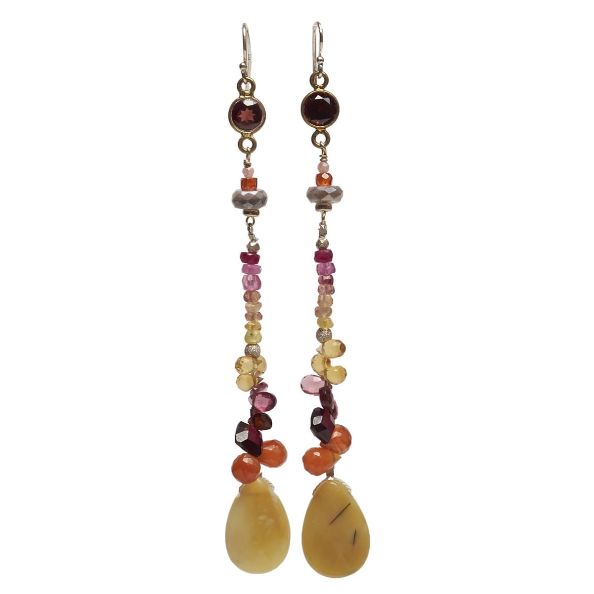 Long and Rubylicious earring