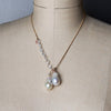 Marvelous Night for a Moondance Pearl wrap necklace