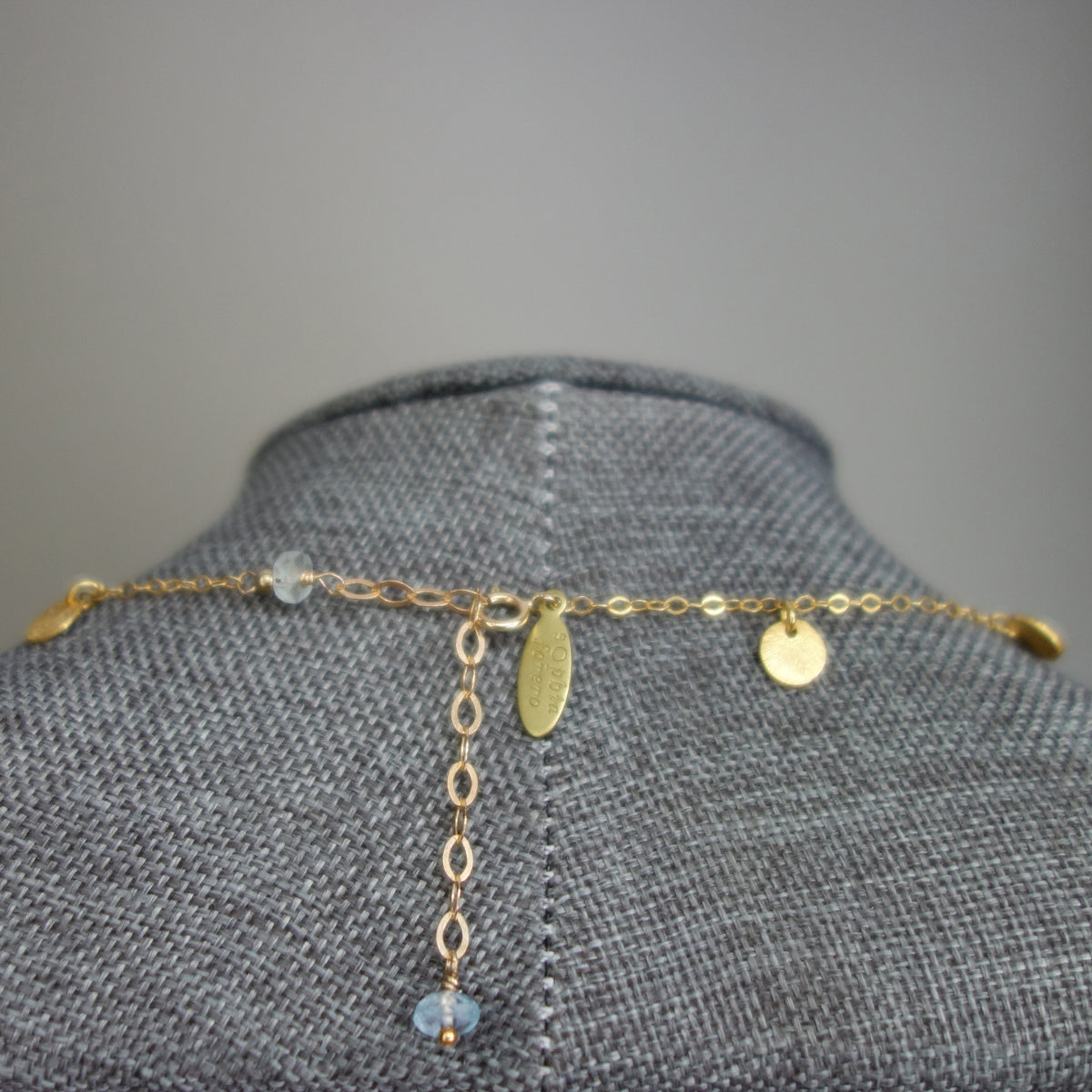 Song Song Blue Topaz necklace