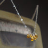 Topaz Cluster Glittering Yes necklace